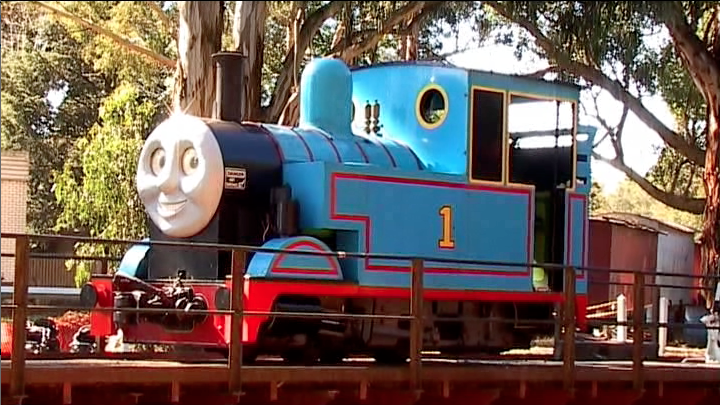 Thomas the tank engine puffing billy victoria