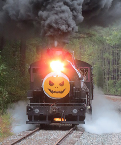 Image result for nevada northern railway halloween