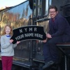 Have your name on the front of a steam engine at the North Yorkshire Moors Railway