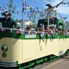 """Ahoy there shipmates!"" The ""Seaton Pearl"" boat tram sets sail on Pirate Day, 31st July"