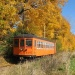 Fall Foliage by Trolley and Train in Rush, NY