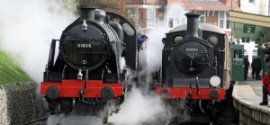 Swanage Railway's 'Winter Warm Up'