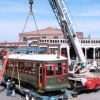 N.C. Transportation Museum Welcomes Charlotte's Trolley #85