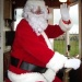 Santa Flies in Early to the Seaton Tramway