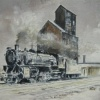 New York Museum of Transportation Exhibits the Railroad Art of Bill Aeberli