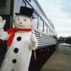 Ride a Vintage Train to Visit Santa Claus