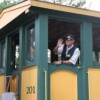 All aboard the New Hope Valley Railway in central North Carolina