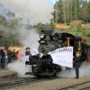 Puffing Billy's Climax 1694 Steams Again