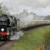 Photo Report– 'Orient Express' Steam Locomotive Runs to Swanage